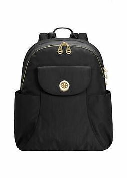 baggallini Women's Barcelona Laptop Backpack, Nylon, Mult. C