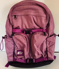 The North Face Women's Laptop Backpack Pink Magenta Pockets