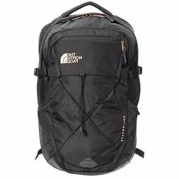 The North Face Women's Solid State Laptop Backpack, Black/Ro