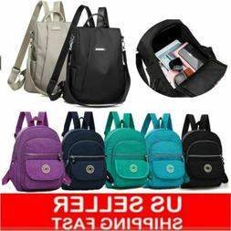 Women Shouler Backpack Travel Bag Girl Mochila Feminina Nylo