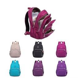 Women School Backpack Laptop Bag Girl Mochila Feminina Nylon
