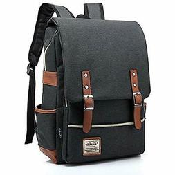 womens men Light Business 15.6' Laptop Backpack Casual Bag D