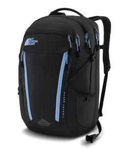 womens surge transit laptop backpack tnf black