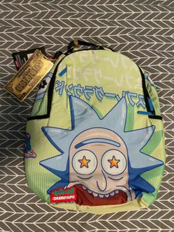 Sprayground x Rick and Morty Look At Me Backpack. NEW Laptop