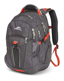 High Sierra XBT Laptop Backpack, Mercury/Crimson