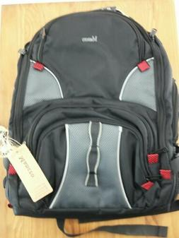 "Mancro XL Travel School Backpack Fits 17"" laptop USB Port Wa"