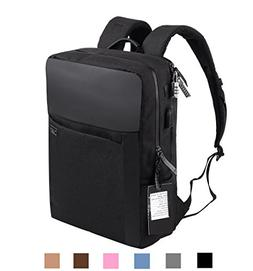 YUANYE Business Water Repellent Nylon Laptop Backpack with U