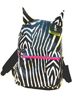 MOJO Zebra Print Backpack