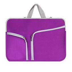 "Kitron-Zipper Sleeve Bag Cover Case for ALL Laptop 13"" 13 in"